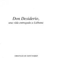 Don Desiderio, una vida entregada a Liébana